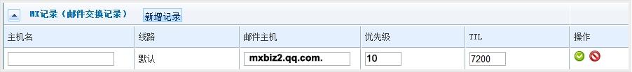 中资源域名如何设置QQ企业邮箱